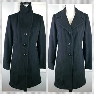 Anne Klein Wool Peacoat